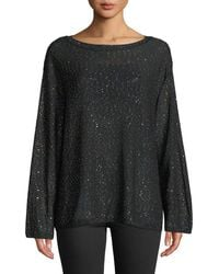 M Missoni - Long-sleeve Tunic With Mini Sequins - Lyst