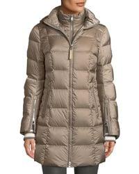 Bogner - Rose Down-filled Puffer Coat W/ Detachable Hood - Lyst