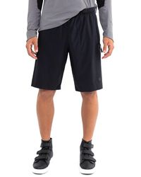Isaora Men's Zen Active Shorts - Black