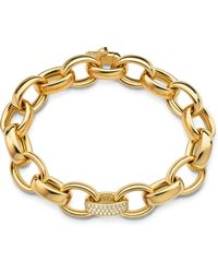 Monica Rich Kosann - Marilyn Extra Large Ultra Pave Diamond 18k Bracelet - Lyst