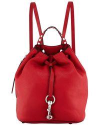 Rebecca Minkoff - Blythe Leather Drawstring Backpack Bag - Lyst