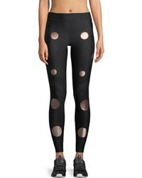 Ultracor - Solstice Full-length Compression Tights With Circles - Lyst