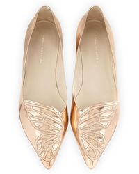 Sophia Webster - Bibi Butterfly Embroidered Flat - Lyst