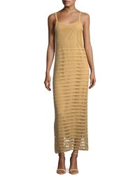 Elizabeth and James - Edna Hand-crochet Long Sleeveless Dress - Lyst