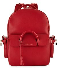 Buscemi - Blue Backpack - Lyst