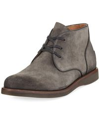 John Varvatos - Brooklyn Suede Chukka Boot - Lyst