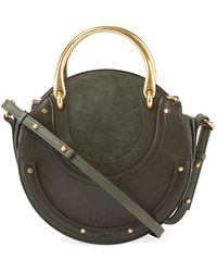Chloé | Pixie Small Round Double-handle Tote Bag | Lyst