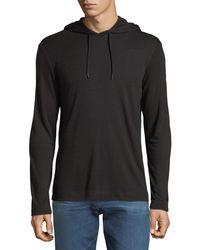 Theory - Men's Easy Velocity Jersey Hoodie Sweatshirt - Lyst