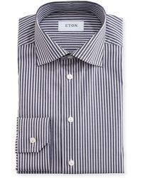 Eton of Sweden - Slim-fit Striped Dress Shirt - Lyst