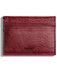 Shinola - Five-pocket Leather Card Case - Lyst