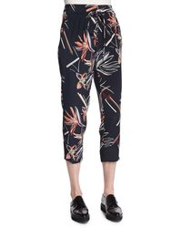 Maiyet - Relaxed Floral-print Slouch Pants - Lyst