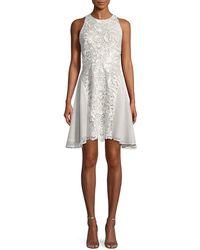 Mestiza New York | Valentina Lace Racerback Mini Dress | Lyst