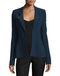 Thierry Mugler - Strong-shoulder Open-front Jacket - Lyst