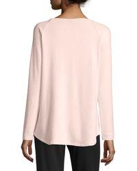 NYDJ | Sarah Long-sleeve Cozy Sweatshirt | Lyst
