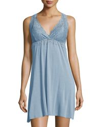 Fleur't - Sleeveless Lace Chemise - Lyst