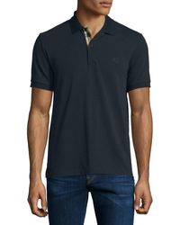 Burberry Brit - Short-sleeve Oxford Polo Shirt - Lyst