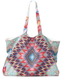 Pilyq - Belize Multi-print Tote Beach Bag - Lyst