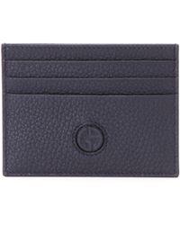 Giorgio Armani - Leather Credit Card Case - Lyst