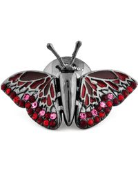 Tateossian - Mechanical Butterfly Lapel Pin - Lyst