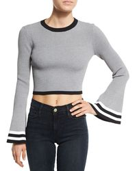 Cameo - There Is A Way Striped Crop Top - Lyst