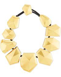 Viktoria Hayman - Faceted Foil Stardust Necklace - Lyst