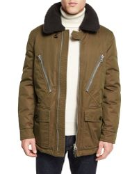 Men's Shearling Coats | Shop Designer Men's Shearling Coats On