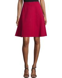 Natori - Silk Flare Skirt - Lyst