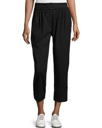 Maiyet - Elastic-waist Cropped Pants - Lyst