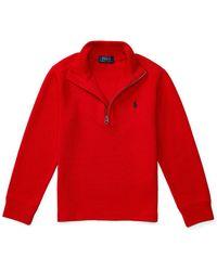 Pink Pony - Half-zip Pullover Sweater - Lyst