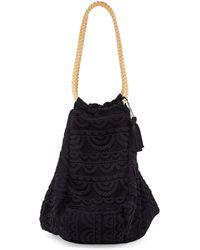 Pilyq - Allison Crocheted Lace Beach Tote Bag - Lyst