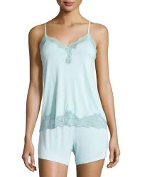Vivis - Rubino Lace-trimmed Camisole - Lyst