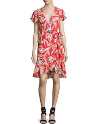 Wrap Dresses - Women&-39-s Designer Wrap Dresses - Lyst