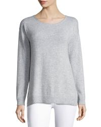 Letarte - Cashmere Palm Tree Pullover Sweater - Lyst