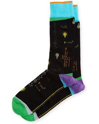 Di Pedarius - Absolute Genius Science Socks - Lyst
