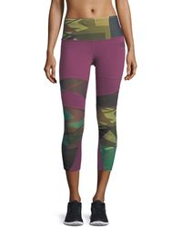 The North Face | Motivation Zigzag Printed Compression Tights | Lyst