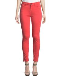 7 For All Mankind - Ankle Skinny Jeans - Lyst