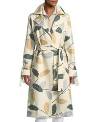 Lafayette 148 New York - Rayna Inspired Laurel Cotton Trench Coat - Lyst
