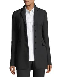 Theory - Five-button Perform Tech Skinny Blazer - Lyst