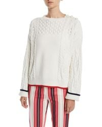 Loro Piana - Baby Cashmere Button-shoulder Sweater - Lyst