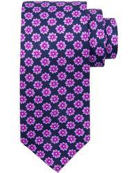 Stefano Ricci - Large Flower Printed Silk Tie - Lyst