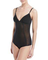 Cosabella - Verona Semisheer Bodysuit - Lyst