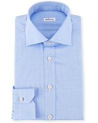 Kiton - Broadcloth Dress Shirt - Lyst