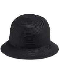 7712b1889bb Gucci - Paper-effect Straw Bucket Hat - Lyst