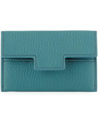 Tom Ford - Grained Leather Classic Card Holder - Lyst