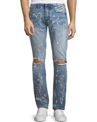 PRPS - Demon Distressed Slim-straight Jeans - Lyst