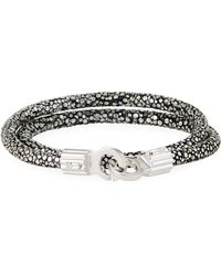 Brace Humanity - Men's Stingray Shagreen Wrap Bracelet - Lyst