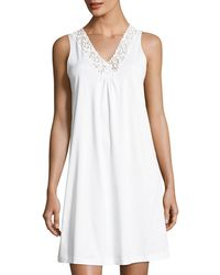 Hanro | Moments Tank Nightgown | Lyst