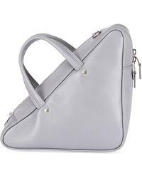Balenciaga Triangle Duffel Small Leather Bag 0CWL1IeDM