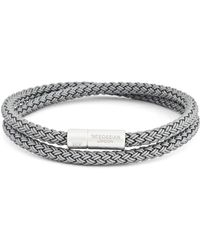 Tateossian - Men's Cable Double-wrap Bracelet - Lyst