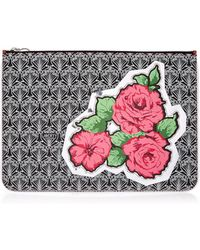 Liberty - Rq Rose Canvas Pouch Bag - Lyst